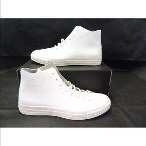 Converse Chuck Taylor All Star High Top Wh Leather